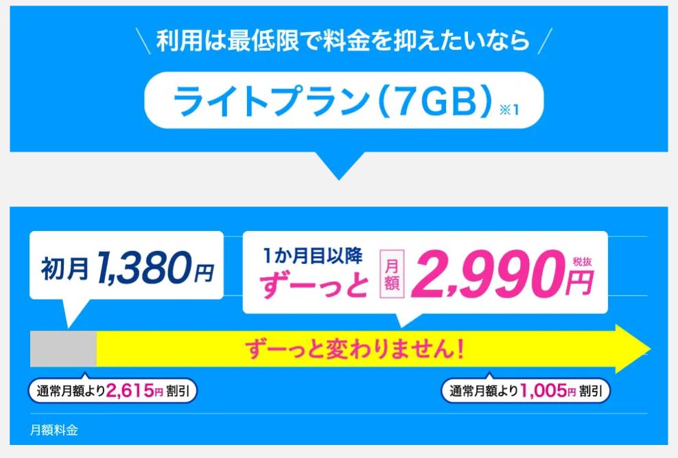 カシモWiMAX通常プラン料金
